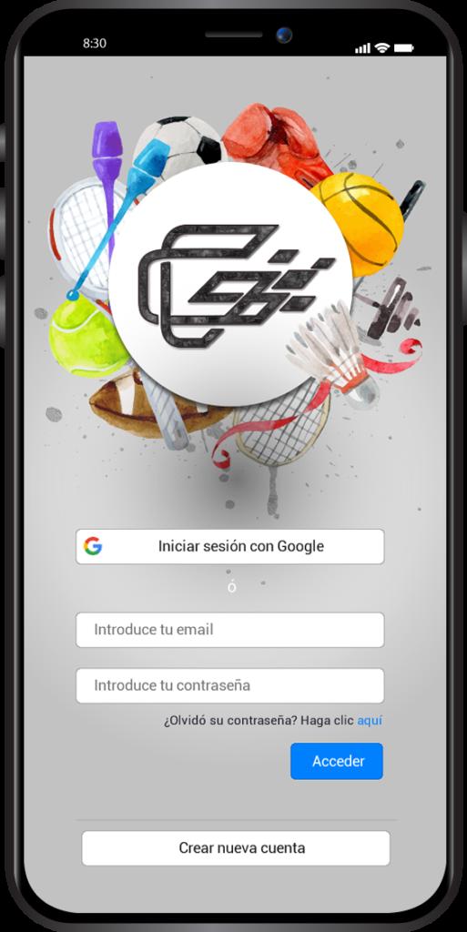 Diseño App Deporte
